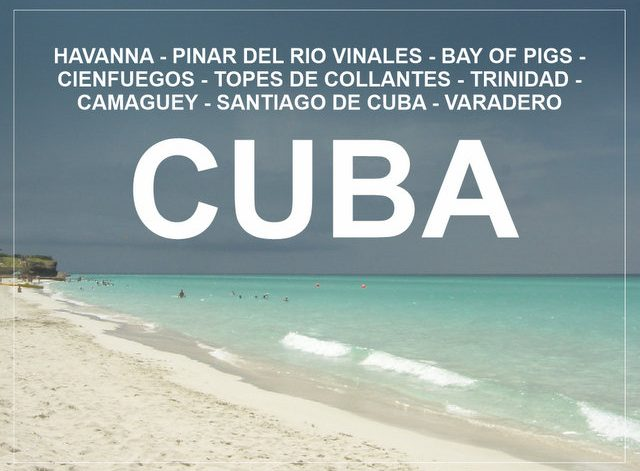 Cuba road trip with rented car from Havana to Santiago and Varadero