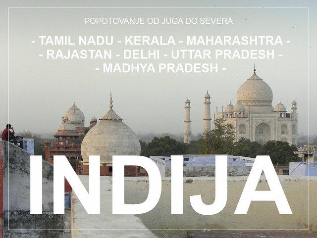 Potovanje po Indiji od juga do severa potopis