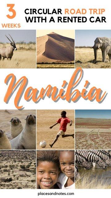 Road trip Namibia in 3 weeks