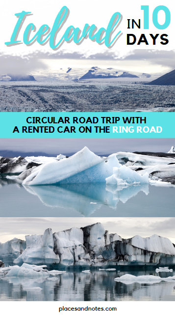 Iceland circular road trip with a rented car in 10 days Ring Road