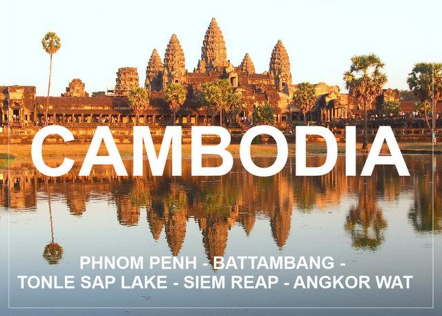 Cambodia backpacking trip 7 days Siem Reap Battambang Angkor Wat Phnom Penh
