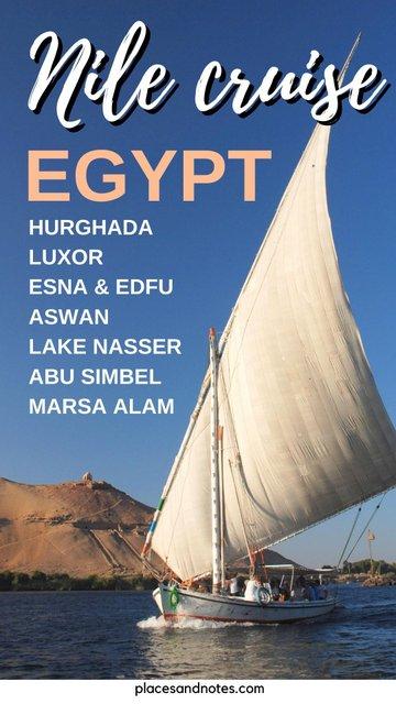 8 days Nile Cruise including holidays in Hurghada and Marsa Alam