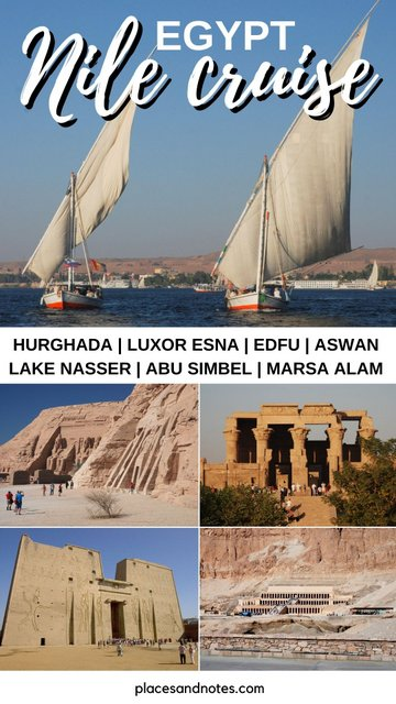 Egypt Nile cruise 8 days including holidays in Hurghada and Marsa Alam