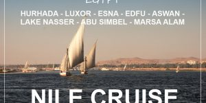 EGYPT : 8 days Nile cruise & beach holidays