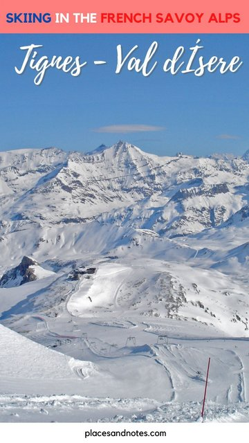 Skiing in Tignes Val d Isere French Alps