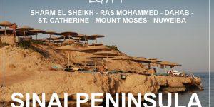 SINAI PENINSULA, Egypt | from Sharm El-Sheikh to Nuweiba
