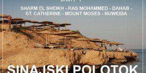 potopis EGIPT: plaze, kraji in pokrajina SINAJSKEGA POLOTOKA
