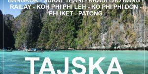potopis TAJSKA – jugo-zahodna obala z nahrbtnikom