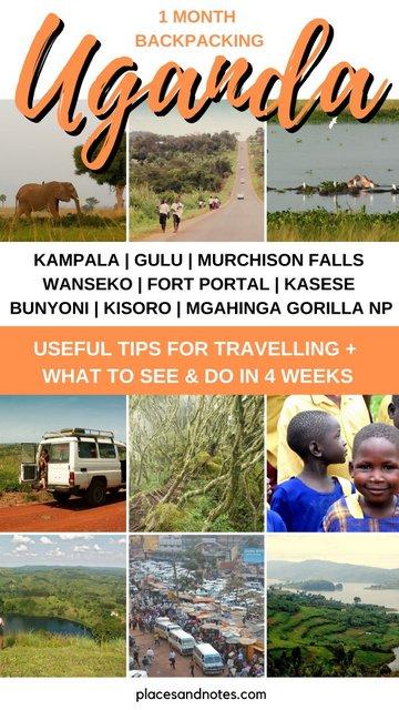 Backpacking Uganda in 1 month from Kampala to Gulu, Murchison Falls, Fort Portal, Kasese, Bunyoni, Mgahinga Gorilla NP