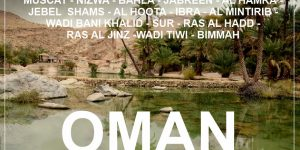 OMAN: 2 week round road trip with a rented 4WD car