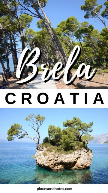 Brela Croatia Makarska summer holidays things to see and do