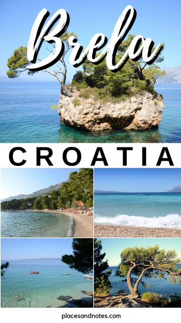 Croatia Brela Things to see and do