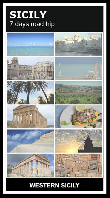 Sicily Italy road trip what to see and do in 7 days