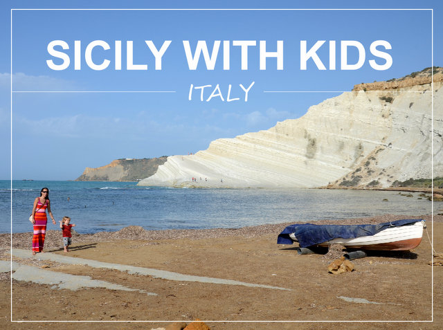 Sicily with kids what to see and do Italy road trip