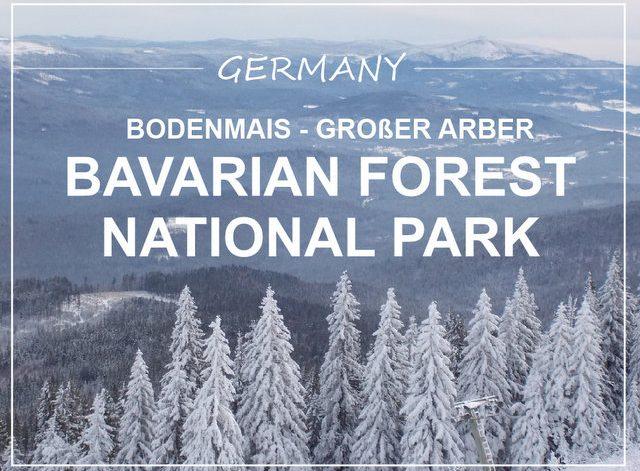 Bavarian forest national park Bodenmais Großer Arber