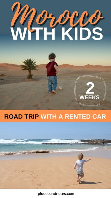 2 week road trip Morocco with a 2yo and a rented car