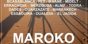 potopis MAROKO: 2-tedensko potovanje z najetim avtom