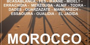 MOROCCO: 2 week round road trip with a rented car