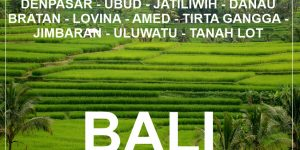BALI: 2 week backpacking round trip