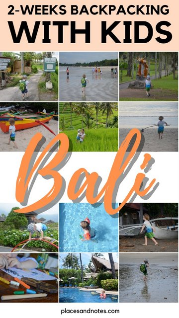Bali with kids in 3 weeks backpacking
