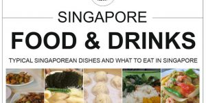 SINGAPORE food & drinks | typical Singaporean food and what to eat in Singapore