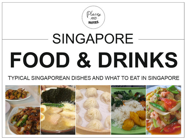 Singapore food and drinks - typical Singaporean dishes and what to eat in Singapore