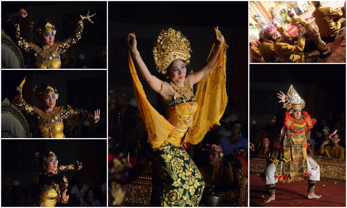 bali dance collage