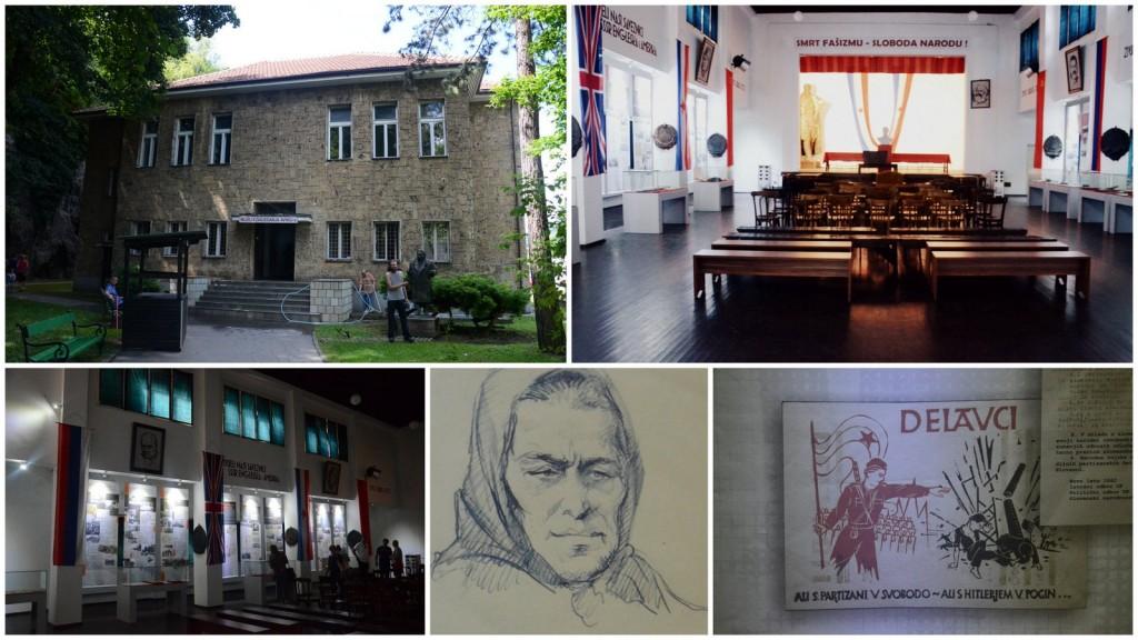 BiH Avnoj museum in Jajce