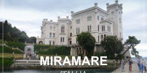 grad MIRAMARE – kratek izlet na italijansko stran