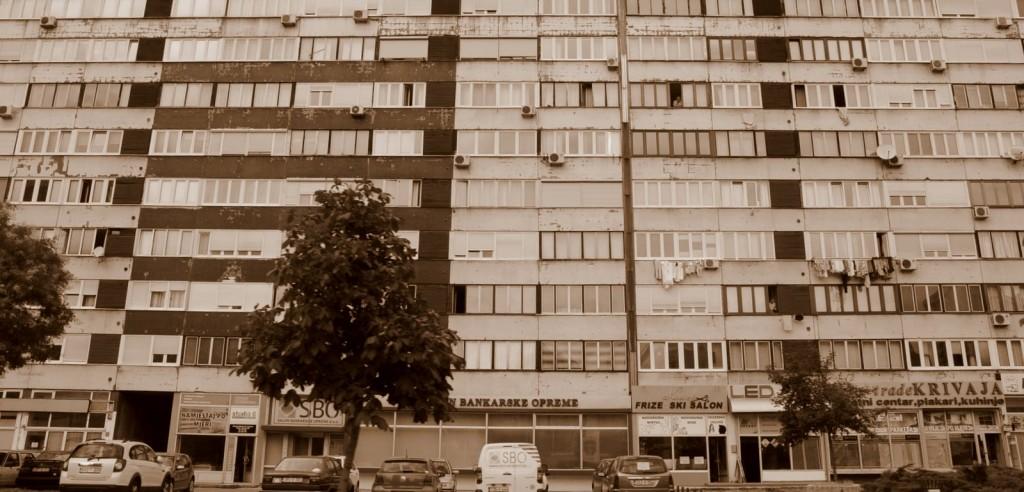 Sarajevo facades
