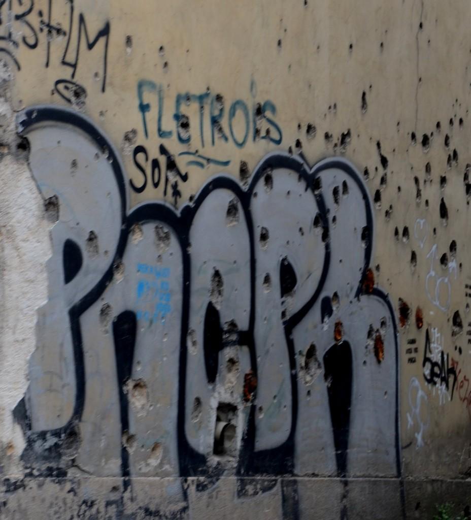 Sarajevo walls