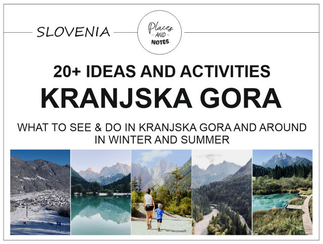 What to see and do in Kranjska Gora and around Slovenia