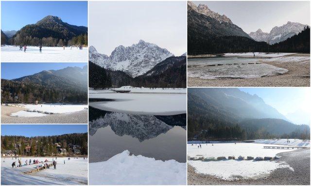 jezero Jasna Kranjska Gora drsanje pozimi kaj poceti