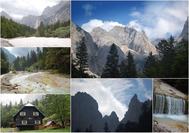 dolina krnica valley Slovenia