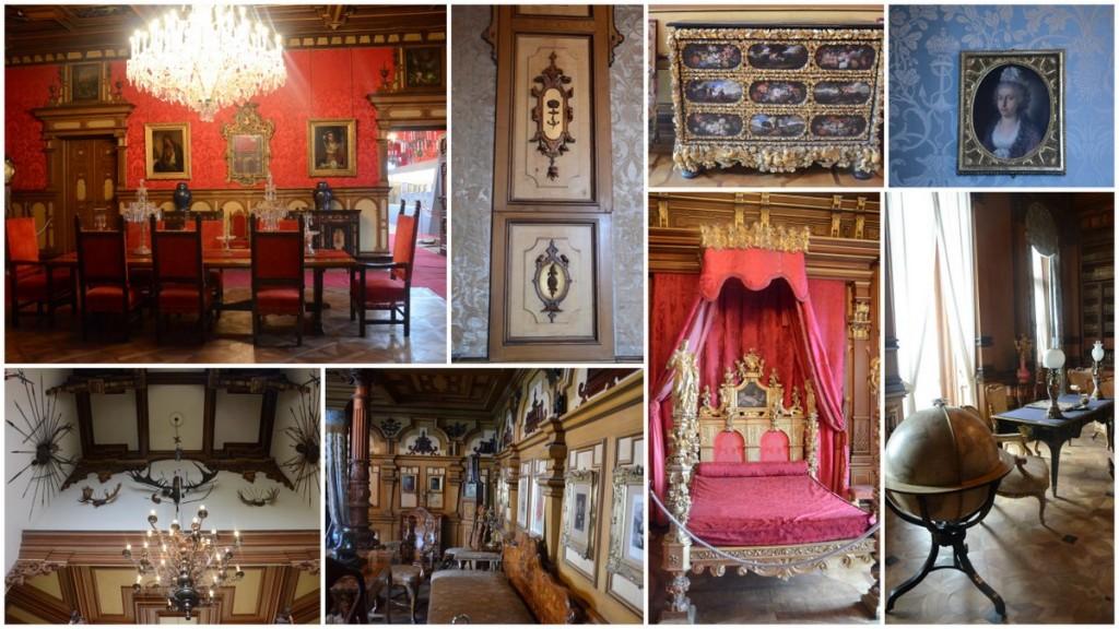 miramare castle inside