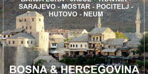 potopis | potovanje BOSNA in HERCEGOVINA: kratek road trip od severa do juga