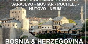 BOSNIA and HERZEGOVINA | short road trip from north to south