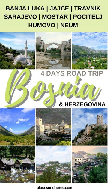 Bosnia and Herzegovina road trip what to see and do