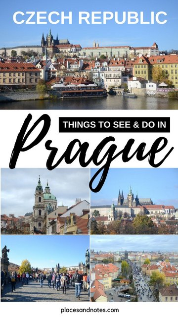 Czech republic Prague weekend trip what to see and do