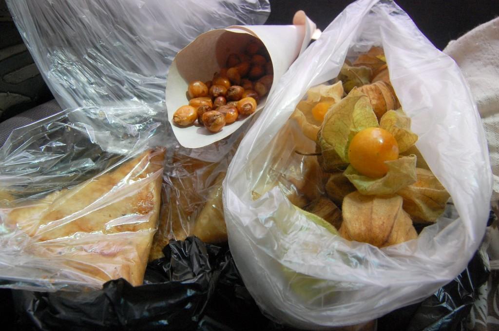 bus snacks