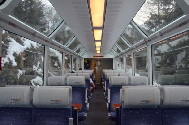 glacier train
