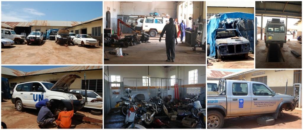 uganda car repair shop