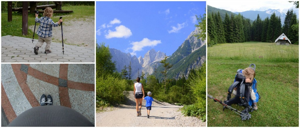 mountains with kids