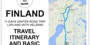 Lapland with Helsinki, FINLAND | travel itinerary and basic costs of our winter road trip