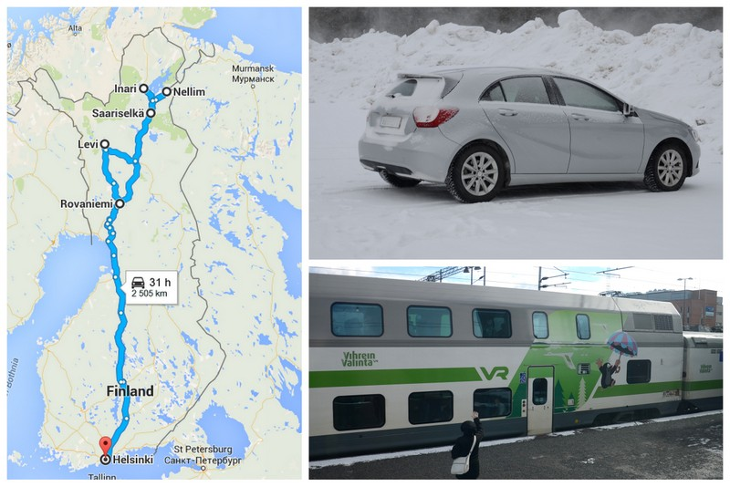 finland transport