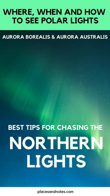 Best tips for chasing the northern polar lights