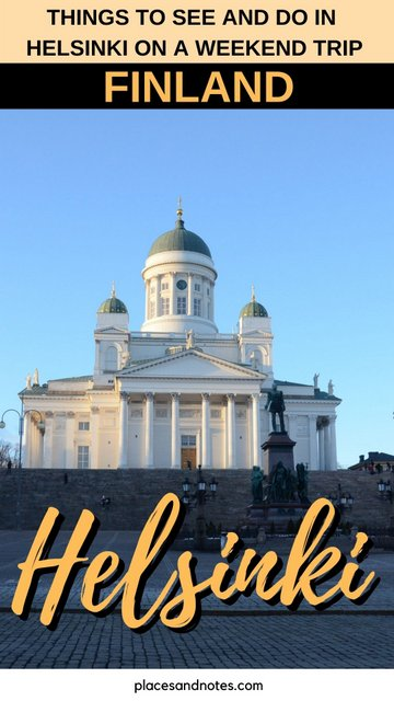 Finland Helsinki things to see and do on a weekend trip