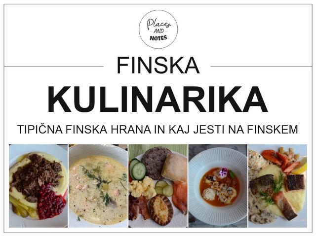 Finska kulinarika - tipiöna finska hrana in kaj jesti na Finskem