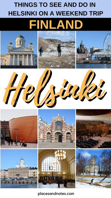 Helsinki Finland what to see and do on a weekend trip