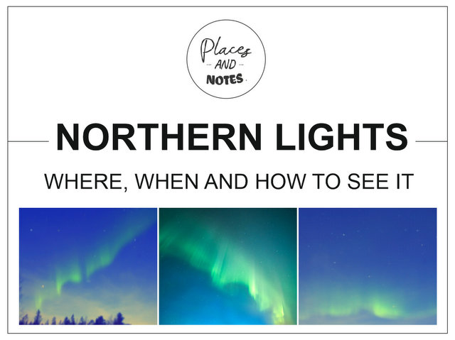 Northern lights when where and how to see it
